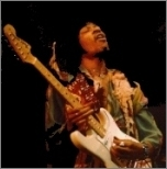 Jimi Hendrix - a Terry Gannon inspiration
